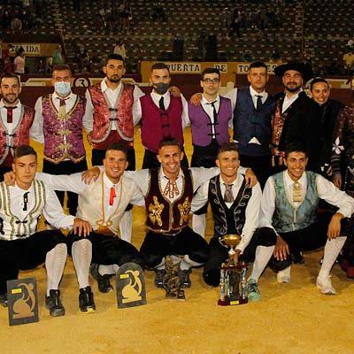 El cuellarano Cristian Rubio, vencedor del Concurso Goyesco de Cortes de Cuéllar 2021