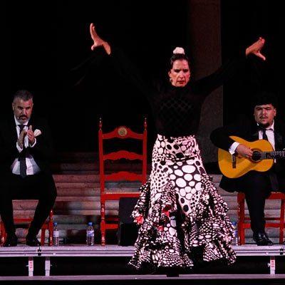 El Henar se rindió ante el arte flamenco de la bailaora Luisa Palicio