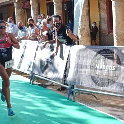 Marina Muñoz suma el Triatlón Sprint de Astudillo a sus éxitos esta temporada