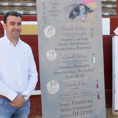 Tres corridas de toros y un festejo de cortes en el cartel de la Feria Taurina de las fiestas de Cuéllar 2021