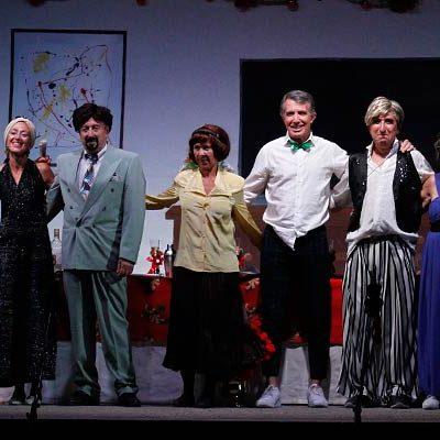 El Loco Vecindario cerró con risas la programación del fin de semana en Cuéllar