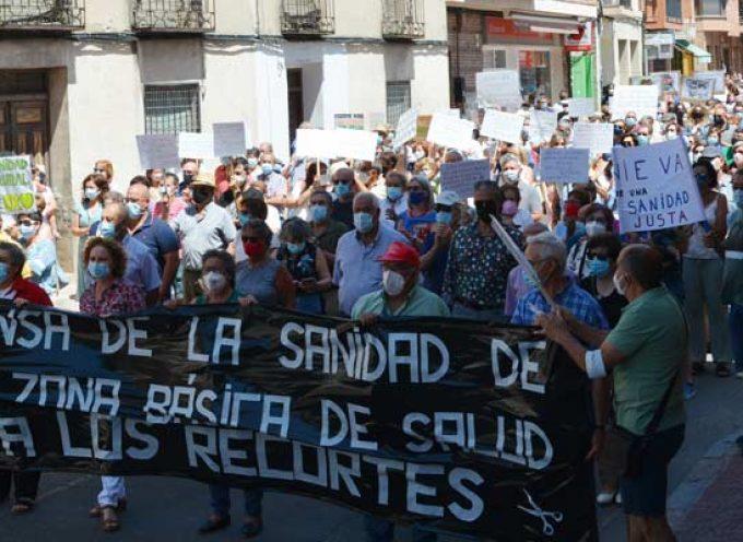 La provincia alzará mañana su voz en Segovia en la manifestación en defensa de la sanidad pública