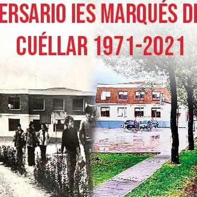 Los actos del 50 aniversario del IES Marqués de Lozoya comenzarán el 7 de octubre