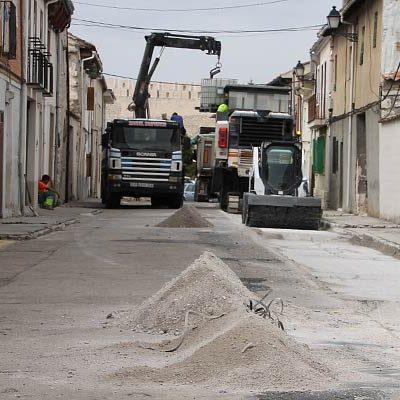 Comienzan las obras de reforma que darán una nueva imagen a la calle Pelota