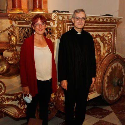El Henar recupera la carroza que durante más de 100 años portó a la virgen en sus romerías