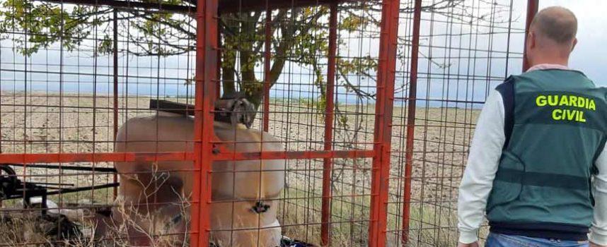 Investigados por la sustracción de 1.900 litros de gasóleo en una explotación agrícola de Nava de la Asunción