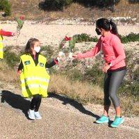 La carrera de relevos con flores para la virgen de El Henar celebra mañana su 63ª edición
